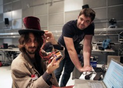 Musical Hat by Matan Berkowitz and Cyril Laurier